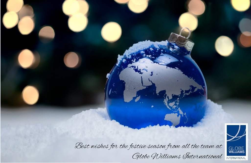 Best wishes for the season from all the team at Globe Williams International.